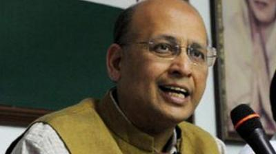 Senior Congress leader Abhishek Manu Singhvi. (Photo: PTI/File)