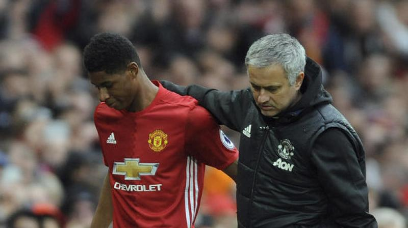 Rashford's minutes have been limited since the arrival of Alexis Sanchez in January. (Photo: AP)
