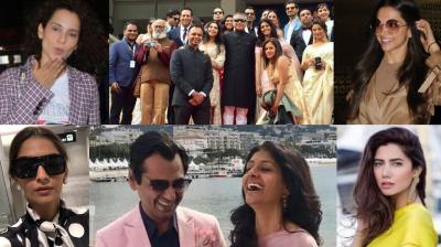 The Cannes Film Festival is currently underway and some of our well-known stars made their presence felt. (Photo: Viral Bhayani/ Facebook/ Instagram)