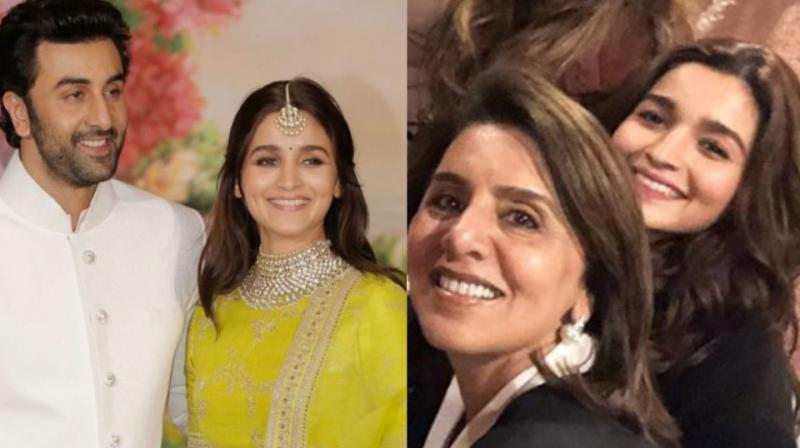 It seems Ranbir Kapoor's mother Neetu is fond of Alia Bhatt.