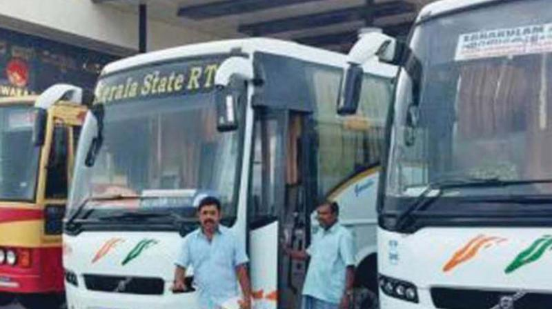 Mr M.G. Rahul, general-secretary of AITUC-affiliated Kerala State Transport Employees' Union, claimed that the unions were not behind the latest action.