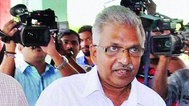 The leaked police circular said that the plan to target Jayarajan has been done with the 'knowledge of the RSS leadership'. (Photo: File)