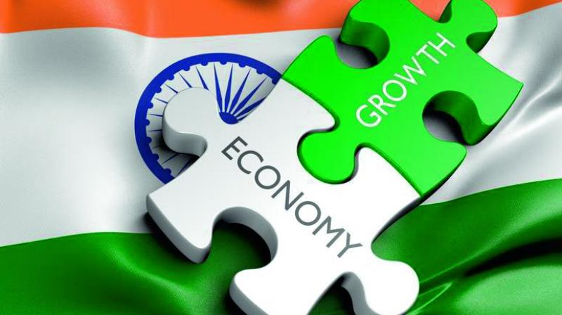 Following the weak GDP outturn for the September quarter, Indian real GDP growth in FY 2019-20 is expected to be slightly below 5 per cent, as it is anticipated that the impact of stimulus measures will take time to filter through to the real economy, IHS said.
