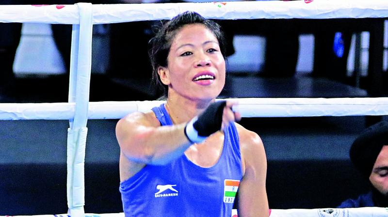 Mary Kom named best boxer of AIBA Women's World Boxing Championships