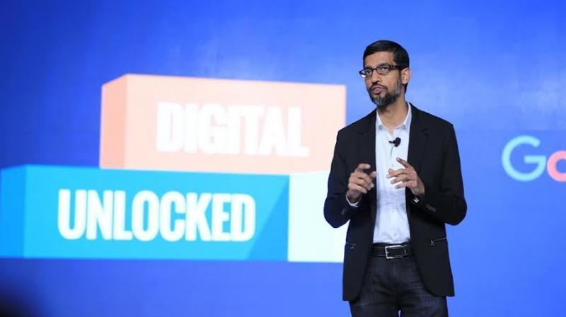 Google cheif executive Sundar Pichai.