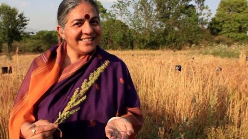 Vandana Shiva (Photo Courtesy: Goodfoodworld.com)