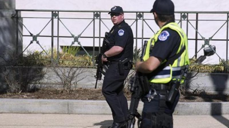 Officers were attempting to respond to him when the man ran off on foot into a secured area of the property toward a pickup truck. (Photo: Representational/AFP)