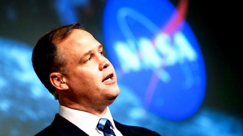Jim Bridenstine, head of the US aerospace agency NASA (Photo: AFP)