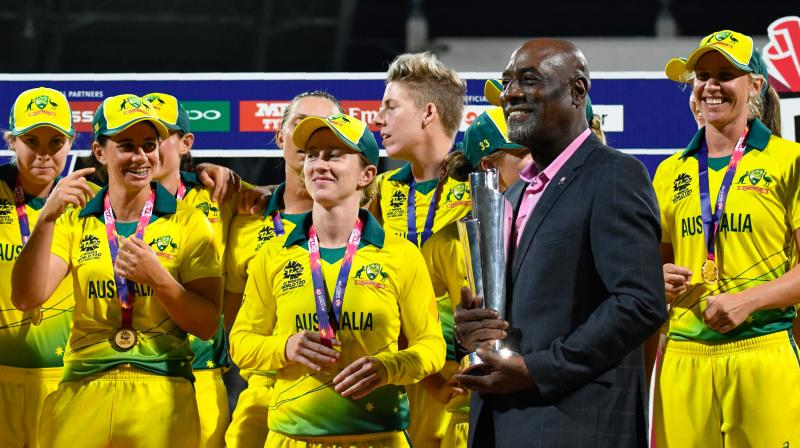 The bid to the Commonwealth Games Federation proposes an eight team T20 event played in two pools of four teams and totalling 16 matches in eight days held at two venues. (Photo: AFP)