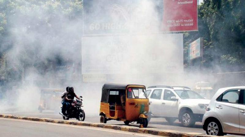 The Centre has asked four cities in Karnataka and 13 other cities across four states to prepare an action plan to reduce pollution levels.
