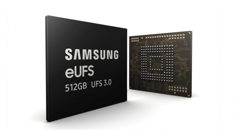 Based on the company's fifth-generation V-NAND, the new memory meets the newest Universal Flash Storage industry specifications at a speed 20x faster than a typical microSD card.