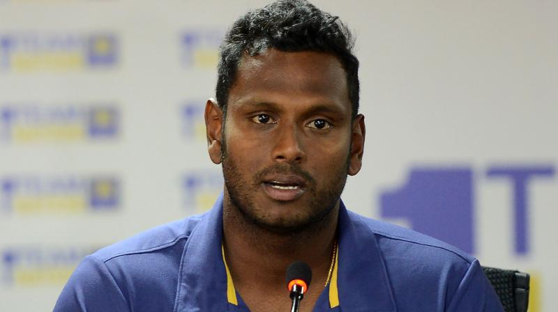Angelo Mathews has come in for severe criticism for his leadership at the Asia Cup, with the Sri Lankan side forced out of the tournament after losing to lower ranked Afghanistan and Bangladesh. (Photo: AFP)