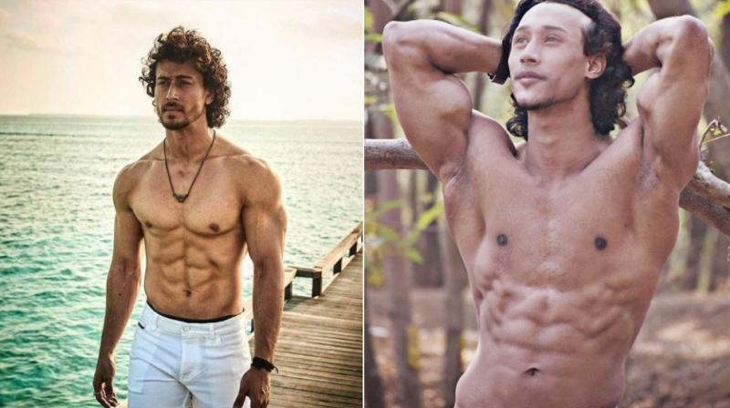 The 22-year-old's posts on Instagram are flooded with comments mentioning the similarity between the two. (Instagram Screengrab/ tigerjackieshroff Verified/ davidmessi_official)