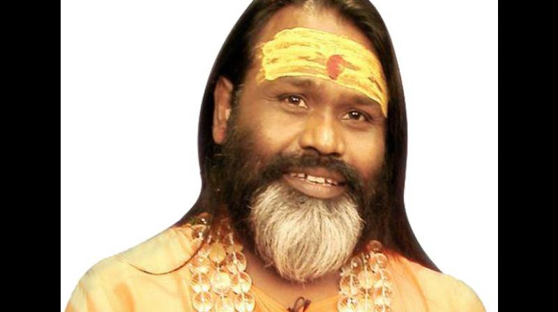 Self-styled godman Daati Maharaj has been booked under sections 376, 377, 354 and 34 of the Indian Penal Code. (Photo: ANI)