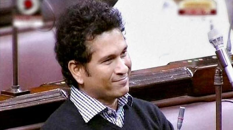This is Sachin Tendulkar's first attempt at initiating a debate in the upper house, where he has been a member for five years and is a year short of completing his term. (Photo: File)