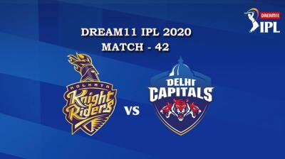 KKR VS DC  Match 42, DREAM11 IPL 2020, T-20 Match