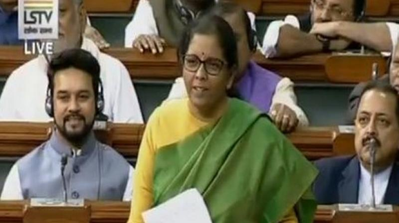 Nirmala Sitharaman in Lok Sabha: I dont eat a lot of onion
