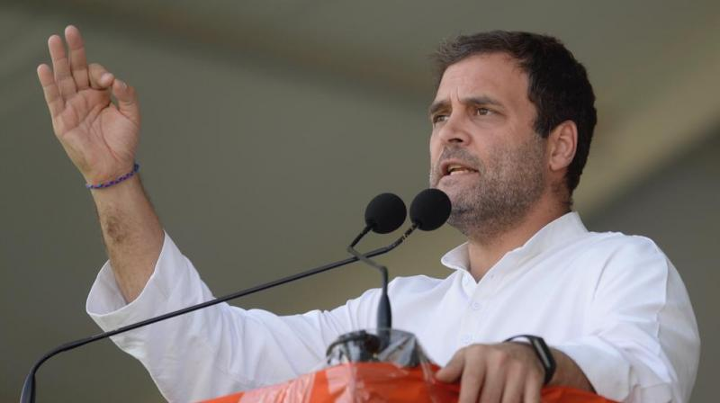 'What is in Prime Minister Modi's mind has finally been articulated... to prove himself superior to others, he can demean Gandhi, Patel and other leaders,' Gandhi said. (Photo: File)