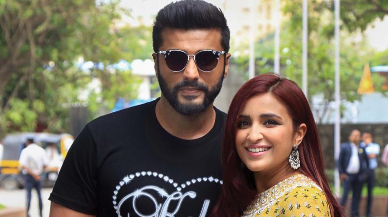 Parineeti Chopra and Arjun Kapoor.