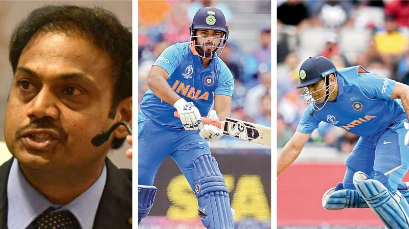 Without divulging much on two-time World Cup winning captain's future plans, Prasad said that a legend like Dhoni knows when to retire but the future course of Indian cricket will be charted by the selectors. (Photo:AFP)