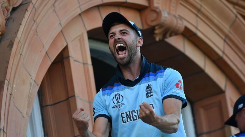 MArk Wood played a key role throughout the World Cup, but was clearly in pain as he strived to maintain his bowling speed during his 10 overs in the final against New Zealand. (Photo:AFP)