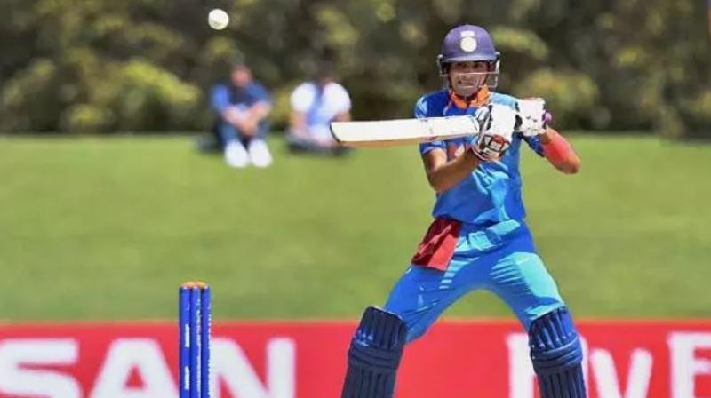 Ruturaj Gaikwad (99) then led the chase but missed out on a well-deserved century. His fellow opener Shubman Gill (69) and first-down Shreyas Iyer (61) also blasted half-centuries as India A overhauled the target in 33 overs at Coolidge Cricket Ground here. (Photo: PTI)