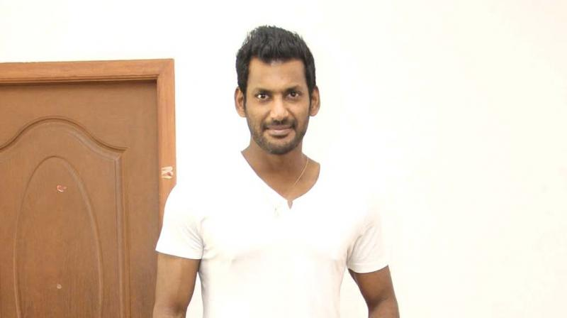 Producer's council president Vishal.