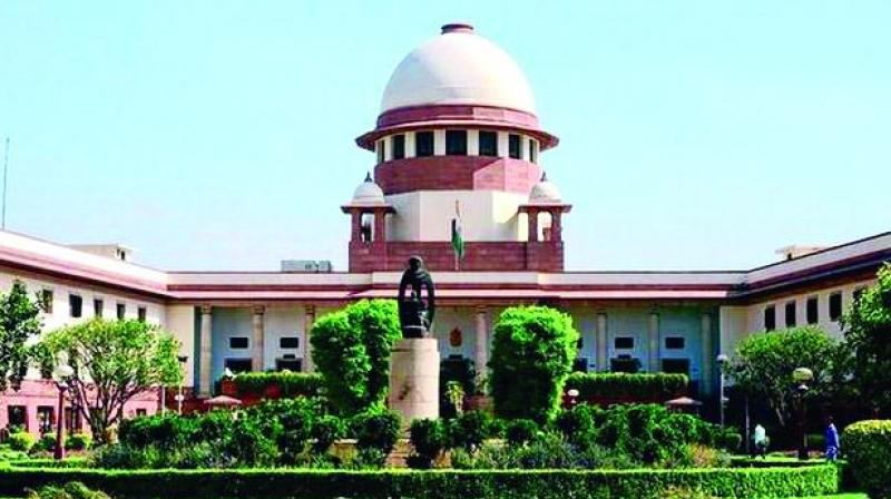 The Supreme Court has fixed the matter for further hearing to May 17.