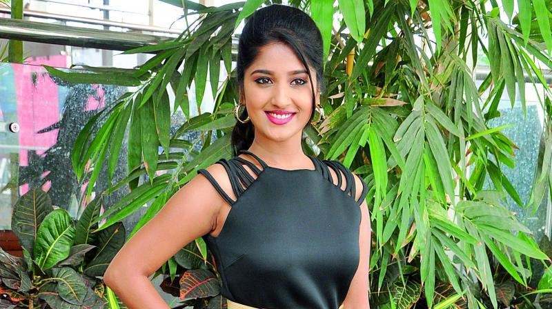 The actress is paired opposite popular anchor Ravi in the film. (Photo: DC)