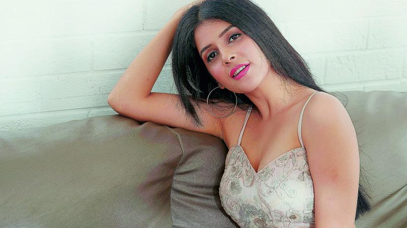 "I'm lucky to be debuting in Telugu with the remake of the black comedy,"" shares Kashish. (Photo: DC)"
