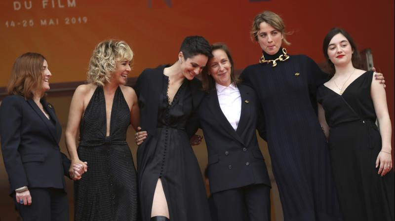 Cannes' film festival last year signed a pledge to get an equal number of men and women in its top management by 2020. (Photo: AP)
