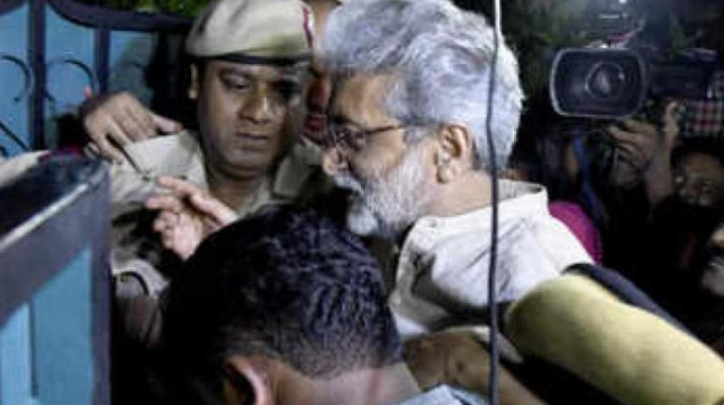 The apex court had, on October 4, extended the interim protection from arrest to Gautam Navlakha till October 15 in the matter. (Photo: File)