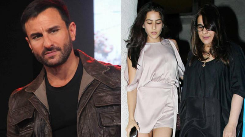 Reports claimed that Amrita Singh blasted Saif Ali Khan for his recent comments on Sara Ali Khan's debut.