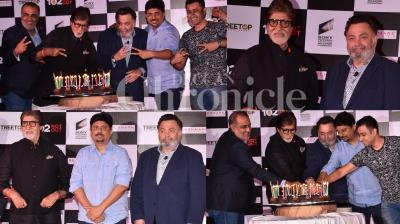 Umesh Shukla's latest comedy-drama '102 Not Out' starring Amitabh Bachchan and Rishi Kapoor became a big success. The cast and crew had a wonderful celebration at the success bash of the film last night. Have a look at few pictures from the success party. (Photos: Viral Bhayani)