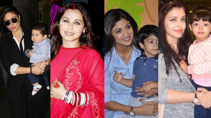Bollywood's supermoms.