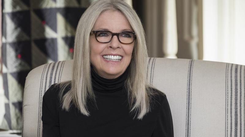 Diane Keaton in the still from film.
