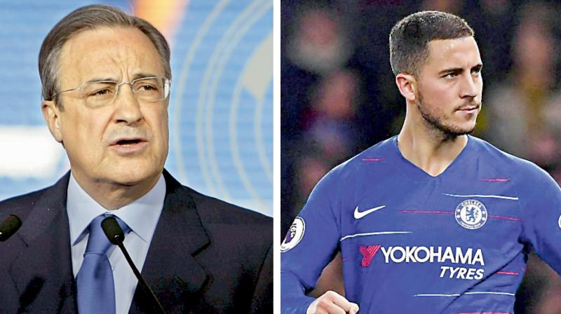 Perez was also asked about the possibility of Madrid signing Kylian Mbappe or Neymar from Paris Saint-Germain.
