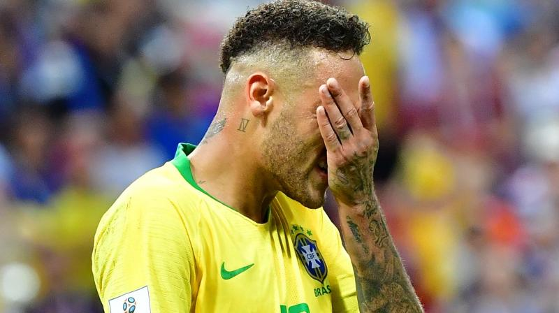 Neymar is embroiled in a rape scandal in which he has been accused of forcing himself on a model. (Photo: Bleacher Report/Twitter)