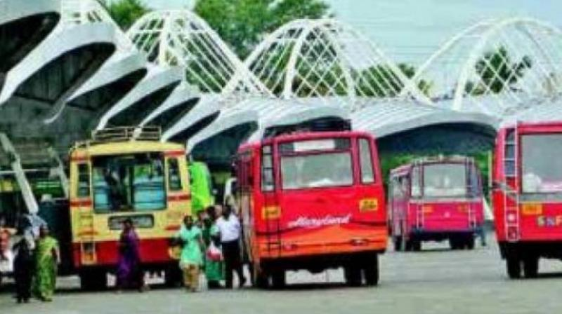 According to an RTC official, 22,332 applications were received from across the state, including 332 in the GHMC area for running 248 buses. (Representational image)