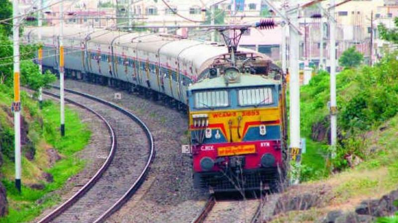 This is hoped to be achieved by infusing nearly Rs 14,000 crore into the railways to improve infrastructure, including replacement of tracks, upgrade of signals systems, bridges strengthened, level crossings eliminated and other technical enhancements on the routes over the next four years. (Photo: Representative | File)