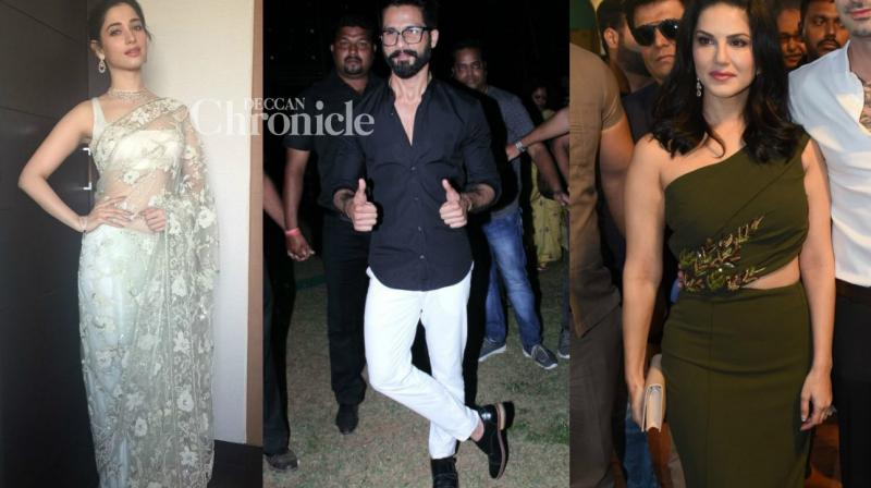 Bollywood celebrities were captured by shutterbugs as they stepped out for professional and personal commitments on Saturday. (Photo: Viral Bhayani)