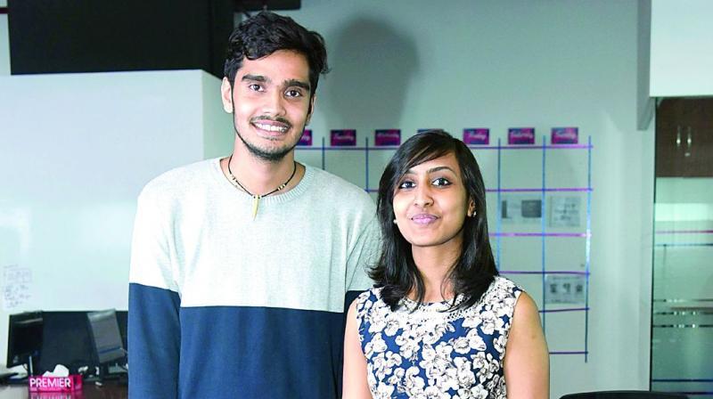 Akshay Tiwari and Mahathi Anand