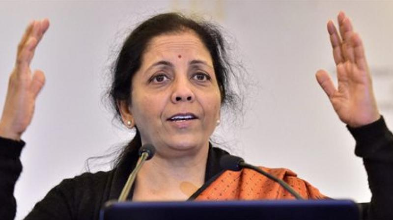 Defence Minister Nirmala Sitharaman was in Chennai on Wednesday, attending signature campaign organised by Tamil Nadu BJP Youth Wing. (File photo)