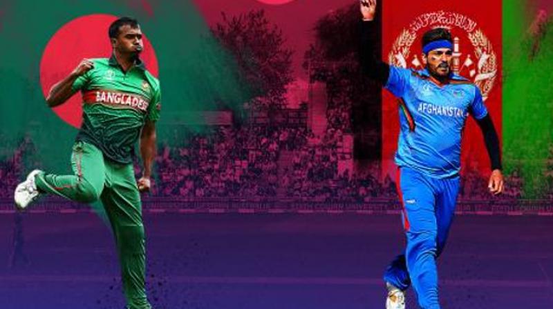 Afghanistan vs Bangladesh (Photo Cricket world cup/Twitter)