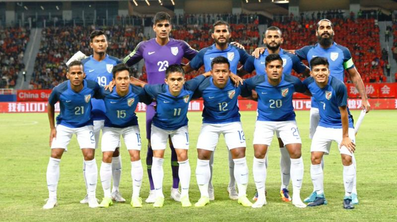 The November friendly, which comes after India's gutsy goalless draw against China, will further set the pace for the national team's preparation for the AFC Asian Cup next year which kicks-off in UAE on January 5. (Photo: AIFF)