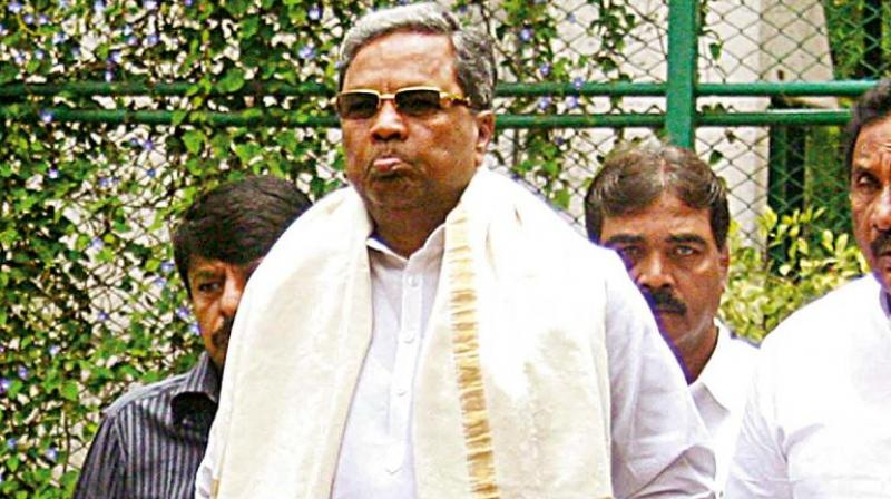 Chief Minister Siddaramaiah had called for a meeting of senior ministers at Karnataka Assemblyin Bengaluru on Friday after the opposition demanded the removal of Karnataka minister KJ George in connection with the suicide case of police officer MK Ganapathy. (Photo: PTI/File)