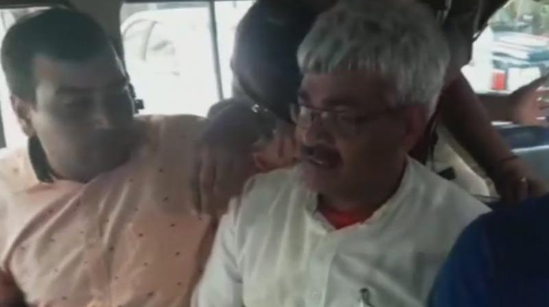 Verma has been booked under the Information Technology (IT) Act. (Photo: ANI/Twitter)