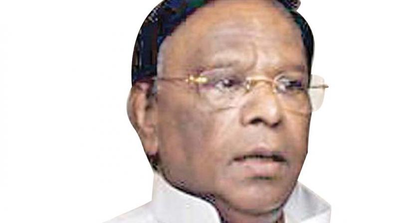 CM alleged Puducherry Lt Governor Kiran Bedi was also impeding development and implementation of welfare schemes. (Image: File)