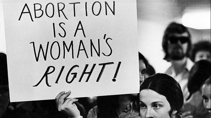 On Wednesday, Alabama banned abortions at any time, with the same exception. (Photo:AP)
