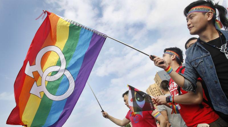 This makes Taiwan the first place in Asia with a comprehensive law both allowing and laying out the terms of same-sex marriage. (Photo:AP)